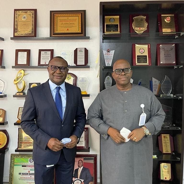 Office Visit by Nigeria Mortgage Refinance